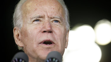 Joe Biden speaks out about Donald Trump's handling of coronavirus.