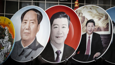 Xi Jinping attracted comparisons with Mao after removing term limits from his presidency.