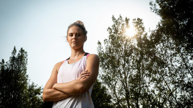 Shayna Jack pictured at home in Queensland.