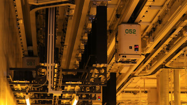 A semiconductor wafer making plant in Dresden, Germany. Semiconductors power everything from phones to electric cars.