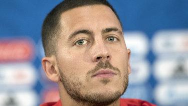 Belgium's Eden Hazard.