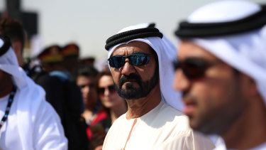 Sheikh Mohammed bin Rashid Al Maktoum, the ruler of Dubai.