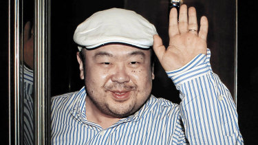 Kim Jong-nam, the half-brother of North Korean dictator Kim Jong-un, pictured in 2010.