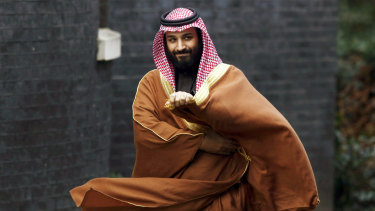 Mohammed Bin Salman: Blamed for the death of a journalist.