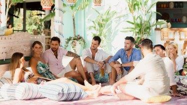 Bachelor in Paradise Australia contestants.