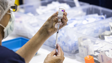 So far 101 disability care homes have had first vaccines, and 19 have received second doses.