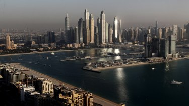A getaway for troubled leaders: Dubai in the United Arab Emirates.