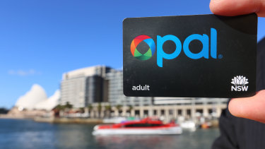 Each Opal card costs the state more than $2 to produce and distribute.