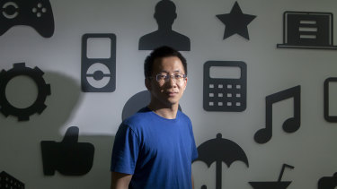 Zhang Yiming owns about a quarter of ByteDance.