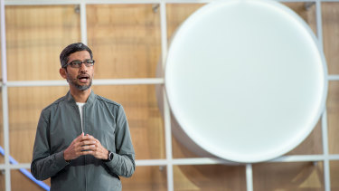 Google chief Sundar Pichai.