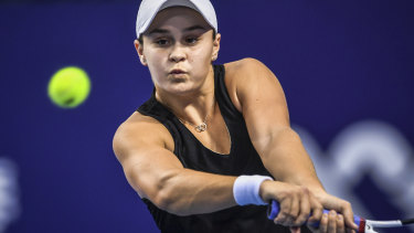 Ashleigh Barty has now twice won the medal.