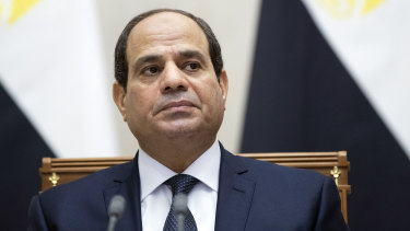 Egyptian President Abdel Fattah el-Sisi pressed Donald Trump to designate the Muslim Brotherhood, a political opponent, a terrorist organisation.