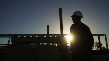 Santos has seen a massive jump in production even as it eyes new gas fields off Western Australia.