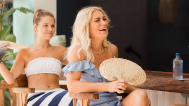 Fan favourite Keira Maguire's tamer than usual on Bachelor In Paradise