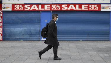 Britain's economy has been hard-hit by the coronavirus pandemic.