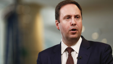 Steve Ciobo address was hailed as symbolic given China's unofficial freeze on visits by Australian government representatives.