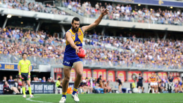 Josh Kennedy and his band of tall teammates up forward were again efficient on goal.