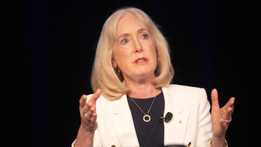 University of Sydney chancellor Belinda Hutchinson.