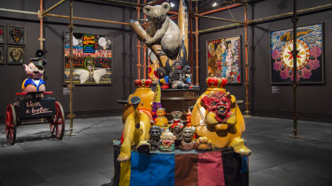 Karla Dickens' work offers a powerful expose of the monstrous stereotypes that once passed as popular entertainment.