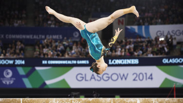 Mary-Anne Monckton at the 2014 Glasgow Commonwealth Games.