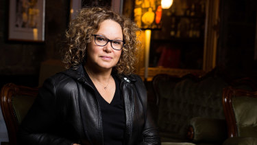 Leah Purcell wrote the play, turned it into a novel and is now directing the film of The Drover's Wife.