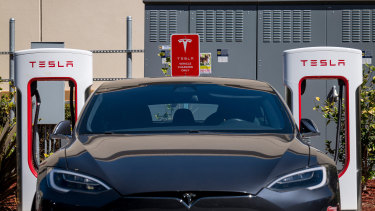Tesla appears to be gearing up to open diners at its charging stations.