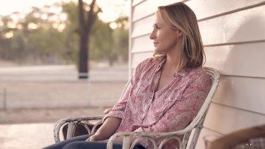 Irish-Australian actress Genevieve O'Reilly in a scene from the film.