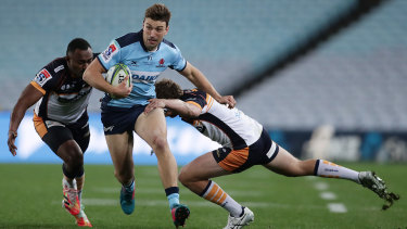 James Ramm tests the Brumbies defence during an impressive season.