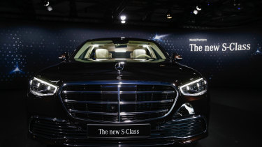 The release is crucial for the carmaking giant after it slipped into the red.