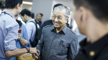 Malaysia's Prime Minister Mahathir Mohamad says he's seeking to public expenditure.