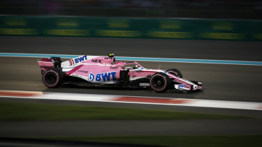 The team formerly known as Force India will have a new name by March.