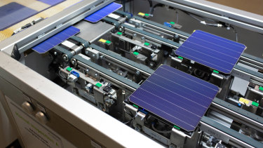 Australia's renewable energy agency ARENA is backing a local start up company's breakthough solar technology.
