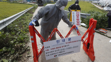 South Korean officials setting up a swine flu quarantine. Could a pork shortage be what drives Chinese officials to a trade deal?