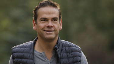 Fox Corp CEO Lachlan Murdoch says Fox News will continue with its 'centre-right' approach.