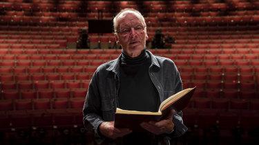 John Bell at the Sydney Opera House.
