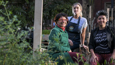 Tanja Beer, Cathy Oke and Zena Cumpston helped transform Melbourne University into a space accommodating more than 40,000 native plants.
