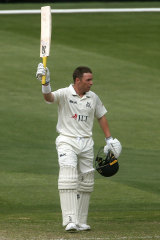 Marcus Harris continued his strong start to the Shield season with a half-century for Victoria on Tuesday.