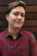 Playwright Rachel Perks.