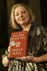 Hilary Mantel after winning the Booker prize in 2009. The author has now concluded her majestic Wolf Hall trilogy.