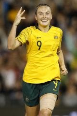 Matildas player Caitlin Foord is confident the team is ready for the Olympic qualifiers.