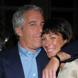 Jeffrey Epstein and Ghislaine Maxwell in New York in 2005.