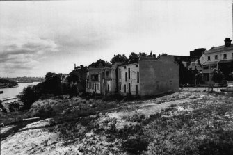"""""""Wilful neglect"""": derelict Houses in Victoria Street on November 19, 1981."""