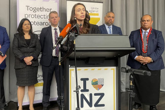 New Zealand Prime Minister Jacinda Ardern announces plans to reopen borders to the world from early next year.