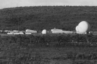 The Joint defence space communications facility at Pine Gap pictured on January 24, 1973.