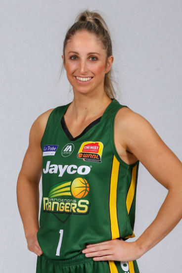 Rebecca Cole's strong WNBL form sees her named in the squad.