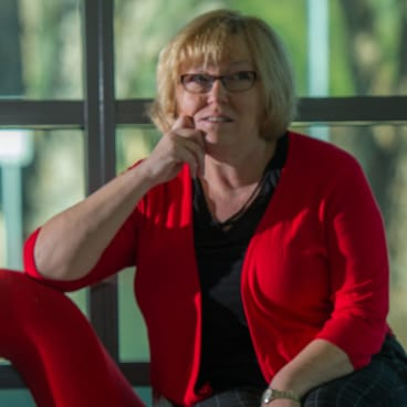 """Associate professor in literacy at the University of Canberra Misty Adoniou, who says the ACT's """"hidden data"""" masks its true performance."""