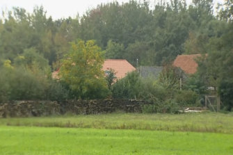 """The Netherlands farm where a six-member family was found """"waiting for the end of time""""."""