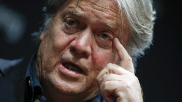 The report cites an interview with former chief strategist Steve Bannon.