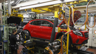 Germany's automobile industry would be particularly threatened if the US imposes tariffs on Europe's exports.