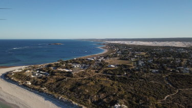 The wider area of the plant proposed for Lancelin, generally regarded as a tourist town.